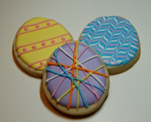 sugar cookie easter eggs