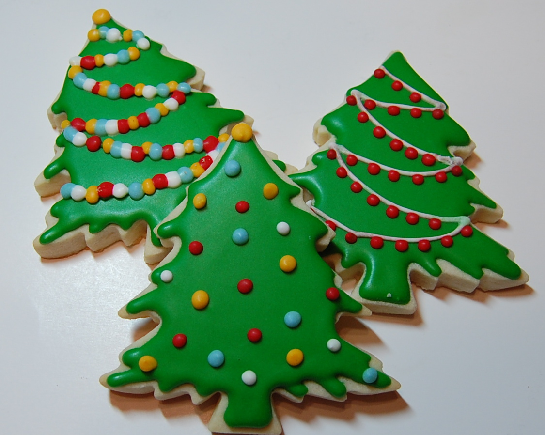 Christmas Sugar Cookies Sugar Cookie Christmas Tree