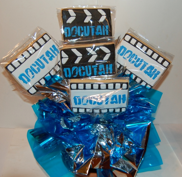Docutah Movie Themed Sugar Cookie Bouquet