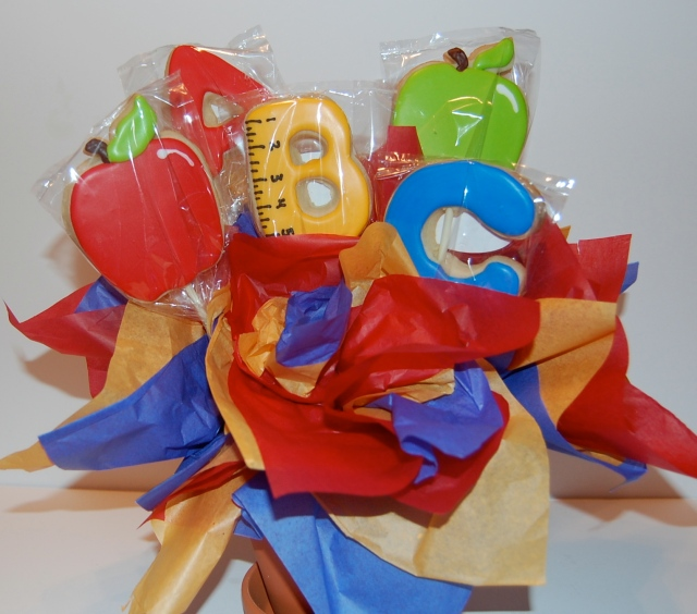 Sugar Cookie Bouquet for School Teacher
