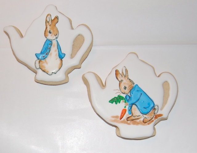 Peter Rabbit Sugar Cookie